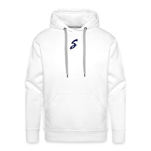 s-blue - Sweat-shirt à capuche Premium pour hommes
