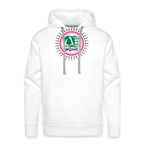 Planète home sweet home - Sweat-shirt à capuche Premium pour hommes