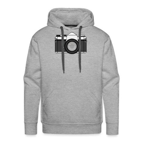 Shot Your Photo - Felpa con cappuccio premium da uomo
