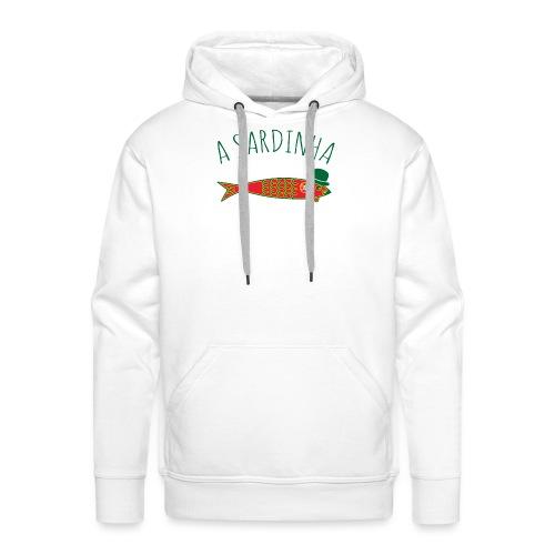A Sardinha - Bandeira - Sweat-shirt à capuche Premium pour hommes