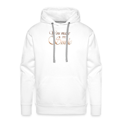 You make me Smile - Mannen Premium hoodie