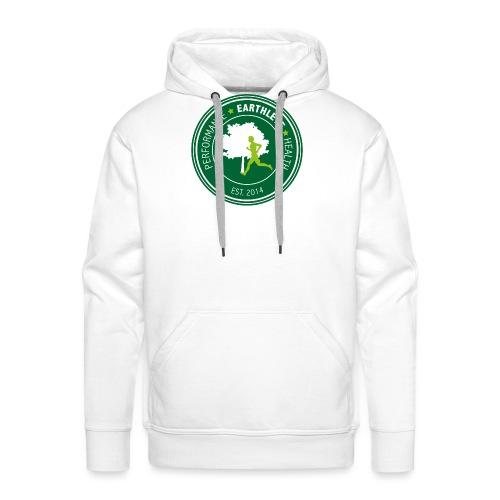 EARTHLETE Brand Logo - Herre Premium hættetrøje