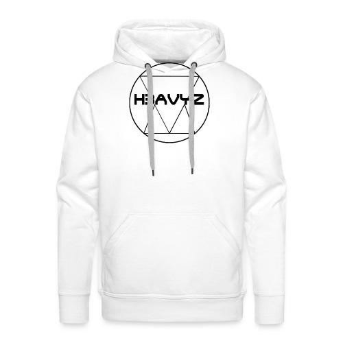 H3AVYZ- Pull gris chiné - Sweat-shirt à capuche Premium pour hommes