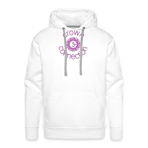 Crown Connection Logo - Men's Premium Hoodie