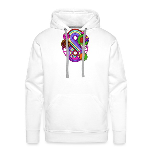 Colour Love Mandala - Men's Premium Hoodie