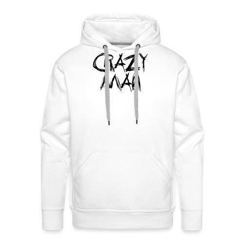 CRAZY MAN - Felpa con cappuccio premium da uomo