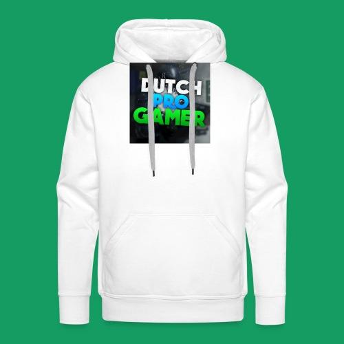 dpg logo groot png - Mannen Premium hoodie