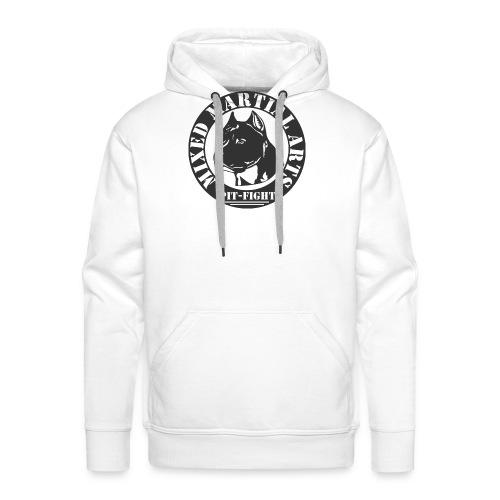 MOTIF MMA PIT BULL - Sweat-shirt à capuche Premium pour hommes