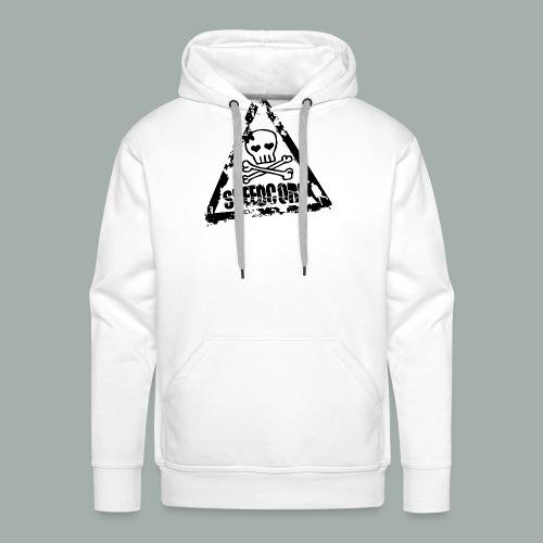 speedcore whore png - Sweat-shirt à capuche Premium pour hommes
