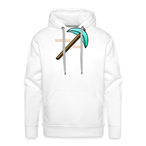 MineBerk Games Logo - Mannen Premium hoodie