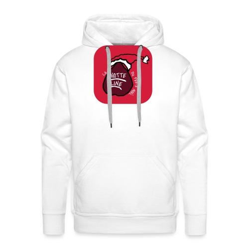 T SHIRT La Hotte Line Du Père Noël - Sweat-shirt à capuche Premium pour hommes
