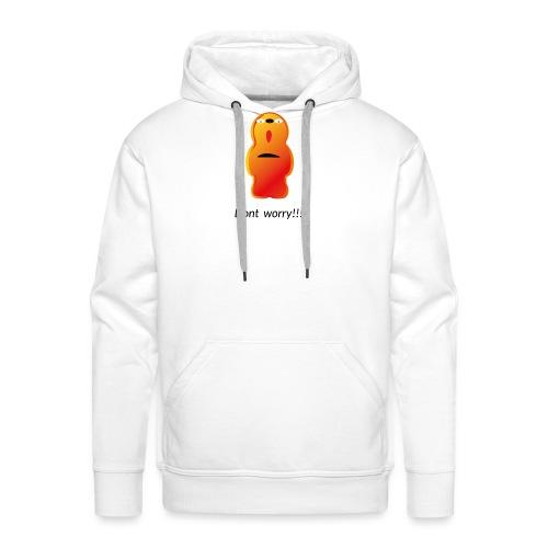 Dont worry Figur aus gumjump - Männer Premium Hoodie