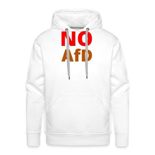 No AfD Keine AfD - Männer Premium Hoodie