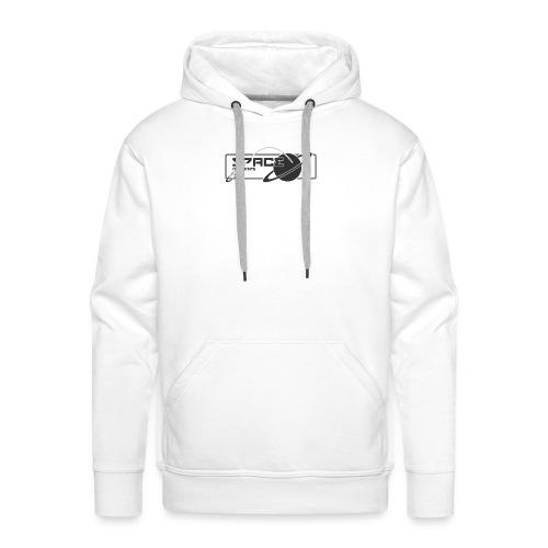 Space Records Merchandise - Sweat-shirt à capuche Premium pour hommes