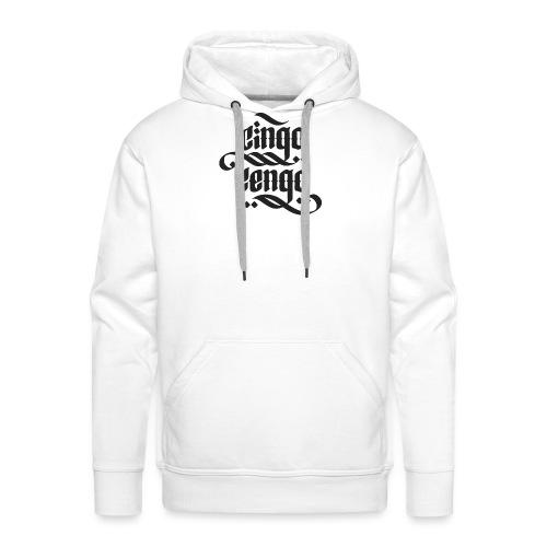 Logo CingoCengo BLACK - Männer Premium Hoodie
