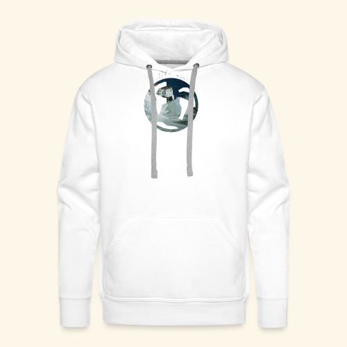 Logo mondo amalfi - Felpa con cappuccio premium da uomo