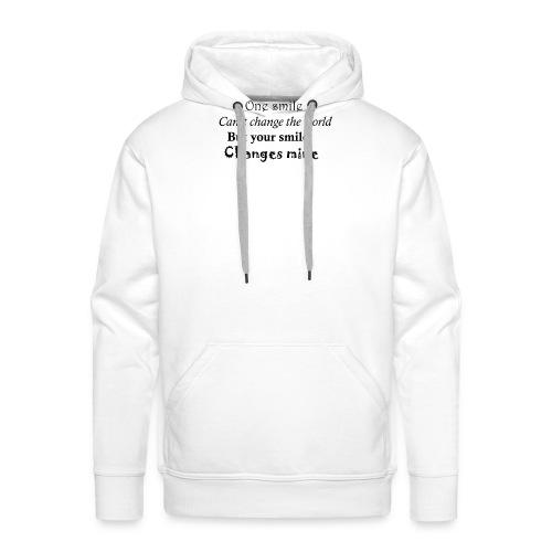 Life quote - Mannen Premium hoodie