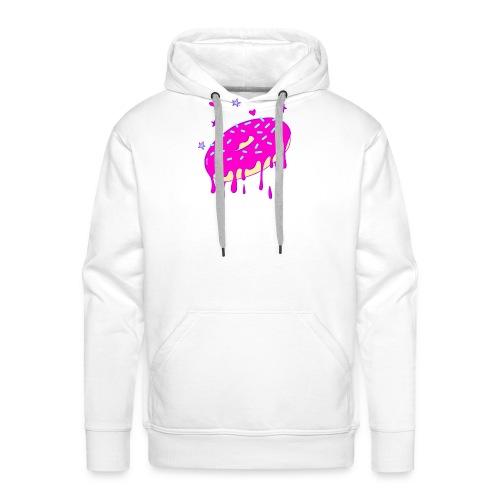 Drippy Pink Donut - Männer Premium Hoodie