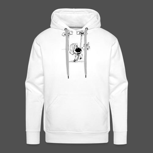 Save your life - Sweat-shirt à capuche Premium pour hommes
