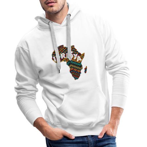Africa - Ifriqya - Sweat-shirt à capuche Premium pour hommes