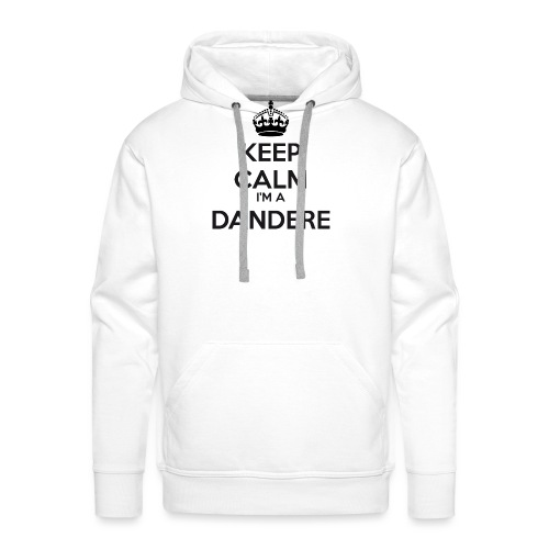 Dandere keep calm - Men's Premium Hoodie