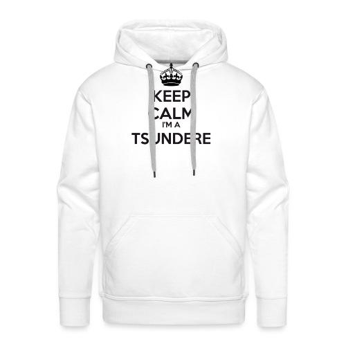 Tsundere keep calm - Men's Premium Hoodie