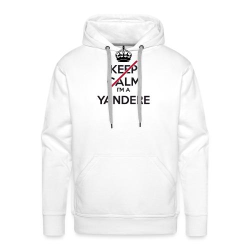 Yandere don't keep calm - Men's Premium Hoodie