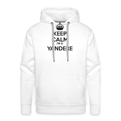 Yandere keep calm - Men's Premium Hoodie