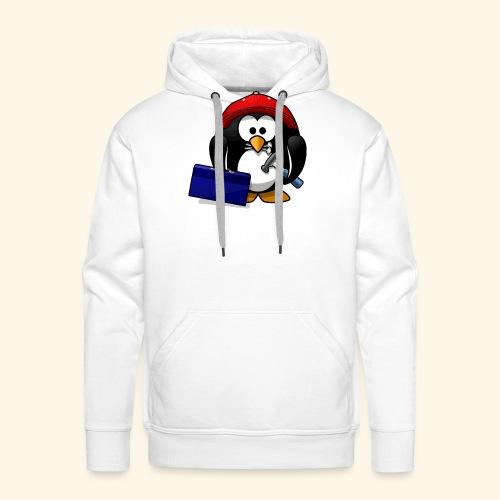 Pinguin Handwerker - Männer Premium Hoodie
