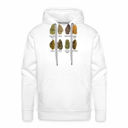 8 Buds of Mary Jane - Sudadera con capucha premium para hombre