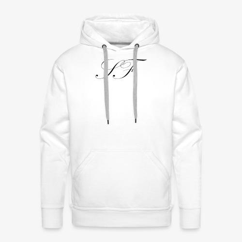 SF HANDWRITTEN LOGO BLACK - Men's Premium Hoodie