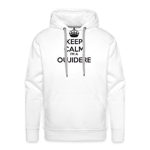 Oujidere keep calm - Men's Premium Hoodie