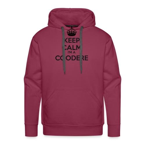 Coodere keep calm - Men's Premium Hoodie