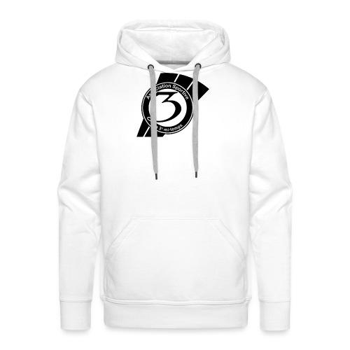 Logo-as3mt-noir - Sweat-shirt à capuche Premium pour hommes