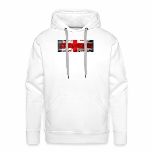 Inline Hockey Great Britain - Sweat-shirt à capuche Premium pour hommes
