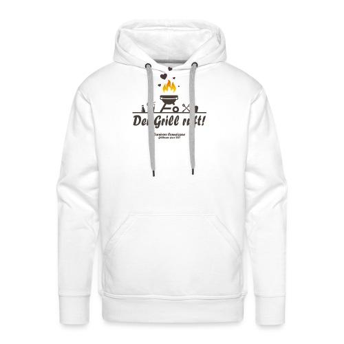 Der Grill ruft - Grillshirt - Männer Premium Hoodie