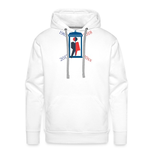 Mr or Ms Who - Men's Premium Hoodie