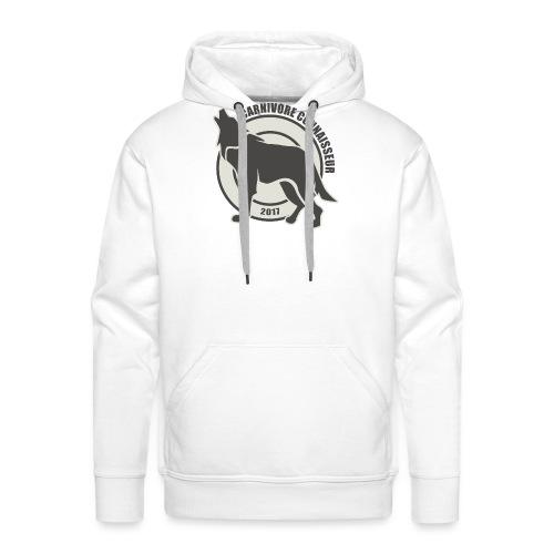 Fleischfresser - Grillshirt - Der mit dem Wolf heu - Männer Premium Hoodie