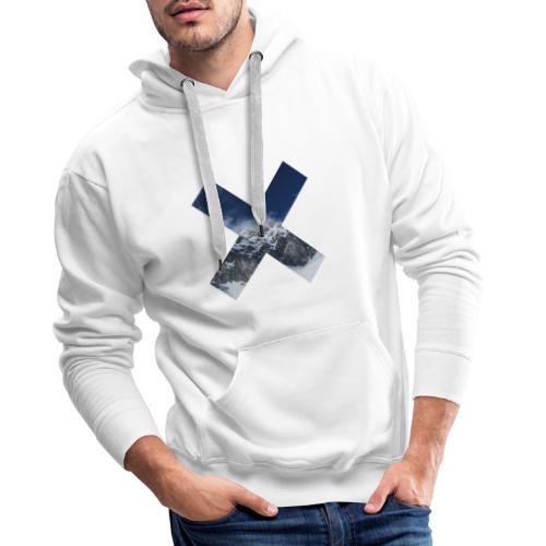 PV tshirt X snow mountain png - Männer Premium Hoodie