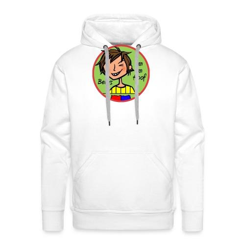Bever Insgine Kleur - Mannen Premium hoodie