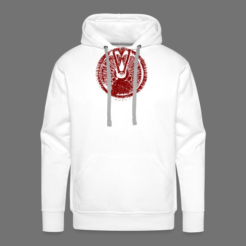 Maschinentelegraph (red oldstyle) - Men's Premium Hoodie
