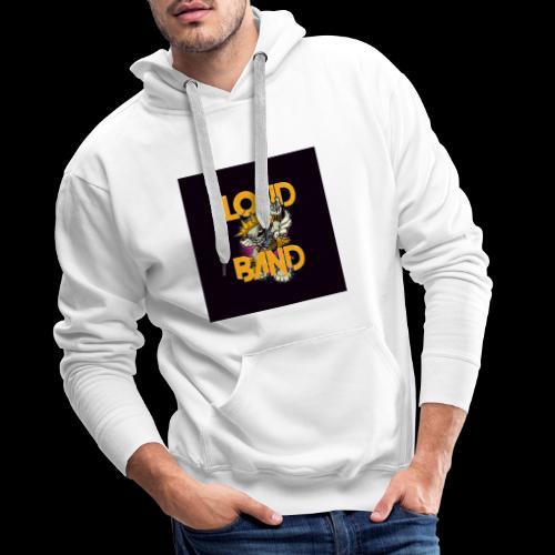 logo-chapas - Sudadera con capucha premium para hombre