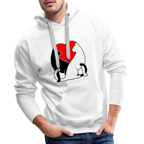 Cats in Love - Men's Premium Hoodie