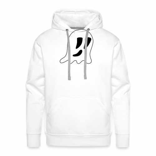 Cartoon Ghost - Men's Premium Hoodie