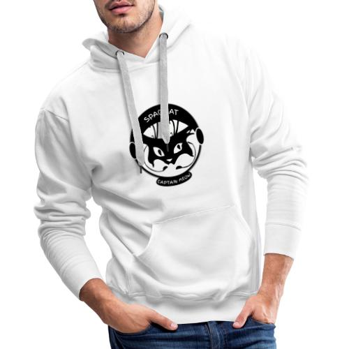 Spacecat Captain Meow - Männer Premium Hoodie