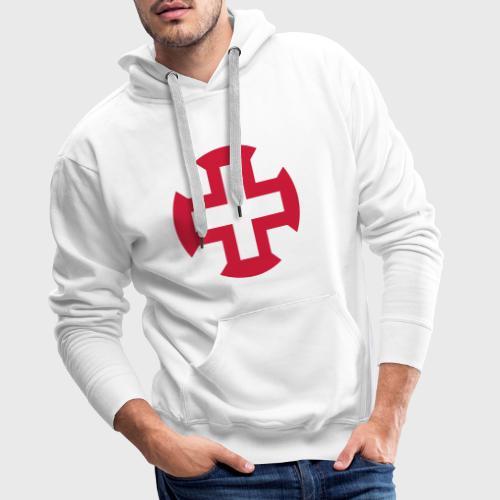 Croix du Portugal - Sweat-shirt à capuche Premium pour hommes