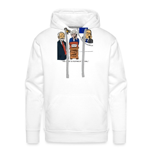 The Cabinet is Propping up the Deal - Men's Premium Hoodie