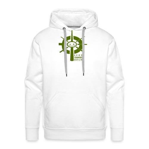 Echochamber Logo grün - Männer Premium Hoodie
