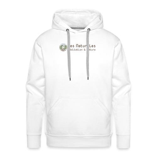 Les Naturales - Sweat-shirt à capuche Premium pour hommes