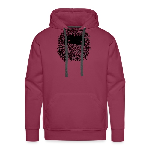 Leaves Bounoz by www.mata7ik.com - Sweat-shirt à capuche Premium pour hommes
